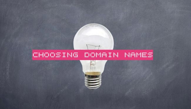 Σημαντικοί παράγοντες για την επιλογή domain name