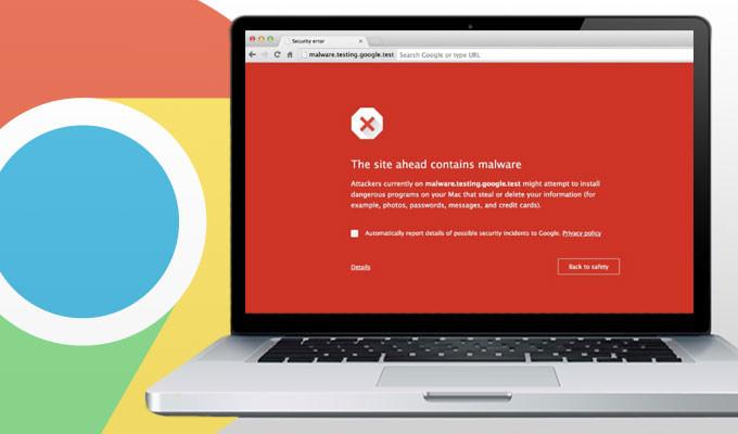Η Google Προειδοποιεί για Site με Επικίνδυνο Περιεχόμενο